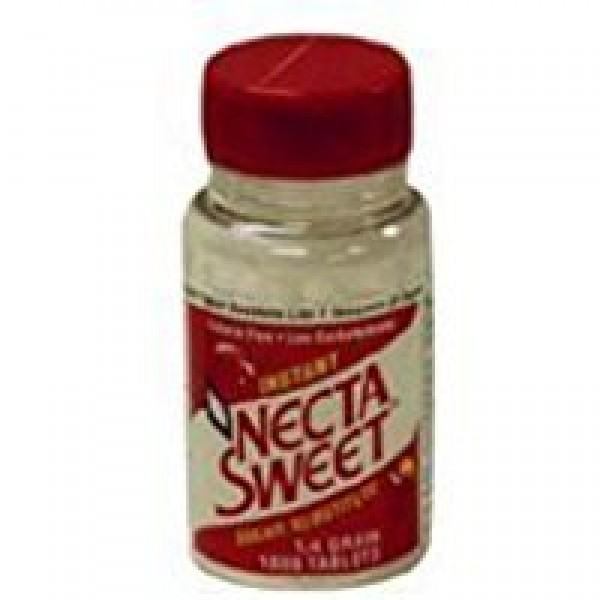 Necta Sweet Saccharin Sugar Substitute 0.25 Grain Tablets - 1000...