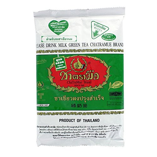 Thai Iced Milk Green Tea - Number One Brand 200 G.