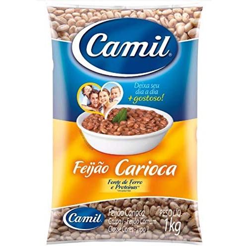 Camil - Pinto Bean - 35.27 oz PACK OF 02 | Feijão Carioca - 1kg