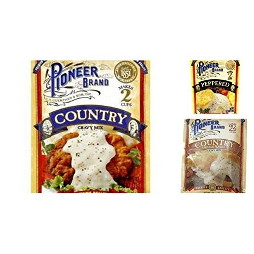 Pioneer Brand Gravy Variety Bundle, 2.75 oz (Pack of 6) includes...