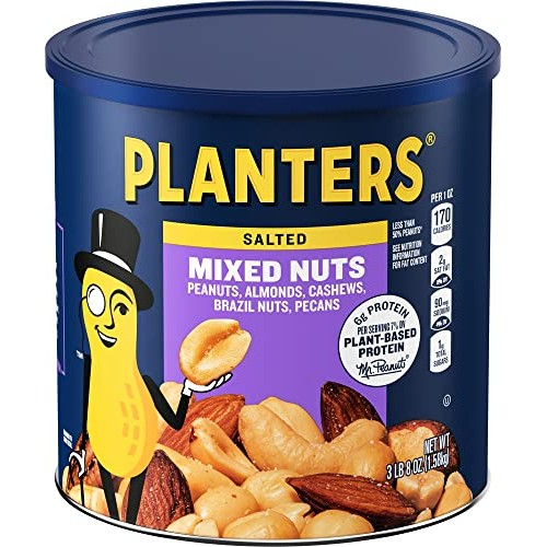 Planters Salted Mixed Nuts 54 oz Canister