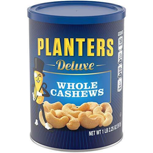 Planters Deluxe Whole Cashews , 1LB 2.25 oz.