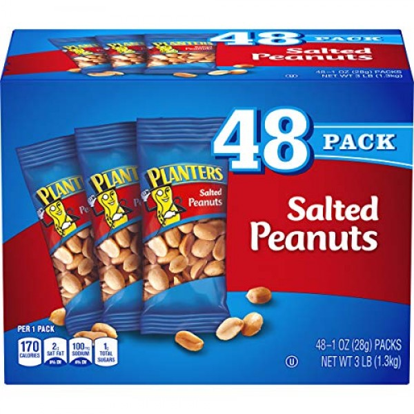 Planters Salted Peanuts - 48 Pack