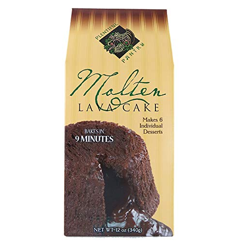 Plentiful Pantry Molten Lava Chocolate Cake Mix, 16 Ounce