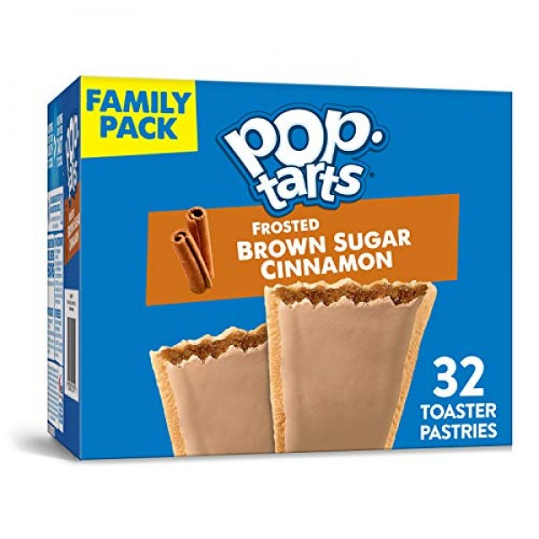Kelloggs Pop-Tarts Frosted Brown Sugar Cinnamon - Toaster Pastr...