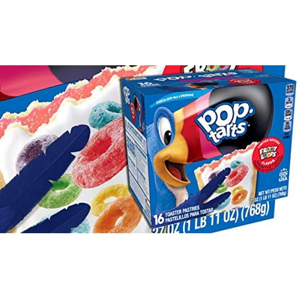 Kelloggs Pop-Tarts Frosted Toaster Pastries Limited Edition Fro...
