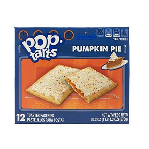 Pop-Tarts BreakfastToaster Pastries, Frosted Pumpkin Pie Flavor...