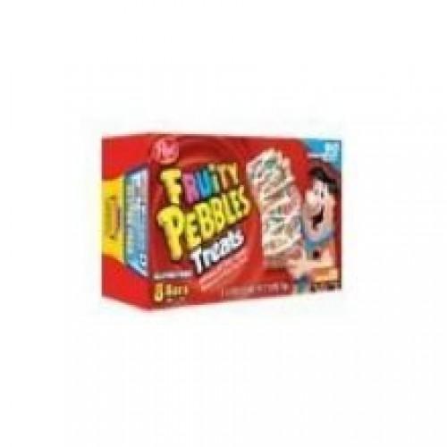 Post Fruity Pebbles Treats - 8 pieces per pack - 8 packs per case.