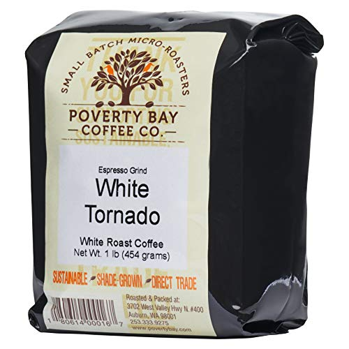 White Coffee - 2lb Bag of White Coffee Beans Roasted By Poverty ...