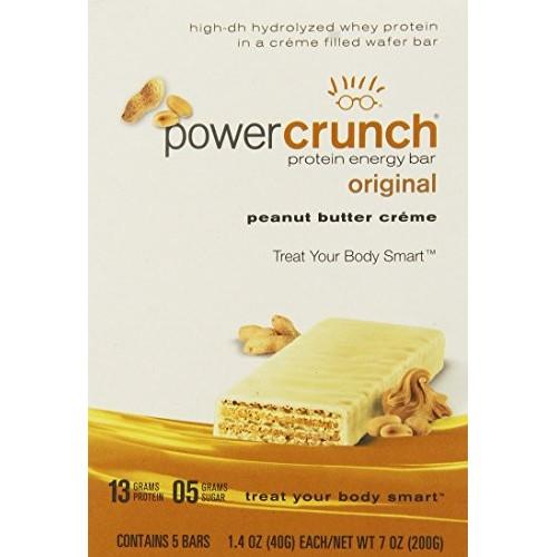 Power Crunch Protein Energy Bar Peanut Butter Creme - 1.4 Ounce ...