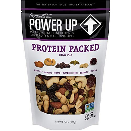 Power Up Trail Mix, Protein Packed Trail Mix, Non-GMO, Vegan, Gl...