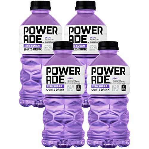 Powerade Zero Purple Grape, Zero Calorie Sports Drink, 28oz Bott...