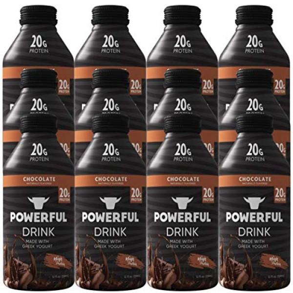 Powerful Drink – Protein Shake, Meal Replacement Shake, Greek Yo...
