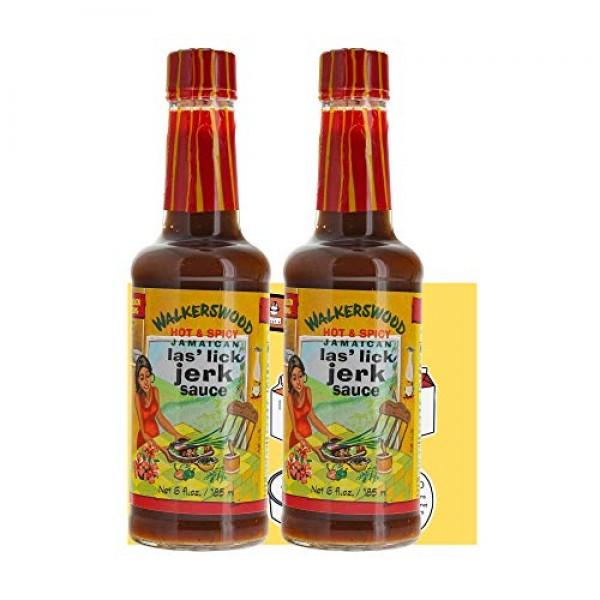 Walkerswood Las Lick Jerk Sauce Bundle 2 Pack - 6 Fl Oz 185m...