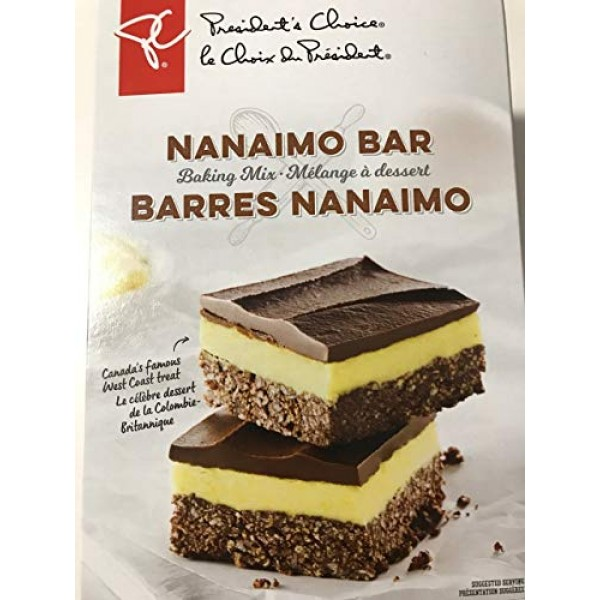 Presidents Choice Nanaimo Bar Baking Mix 740g {Imported from Ca...