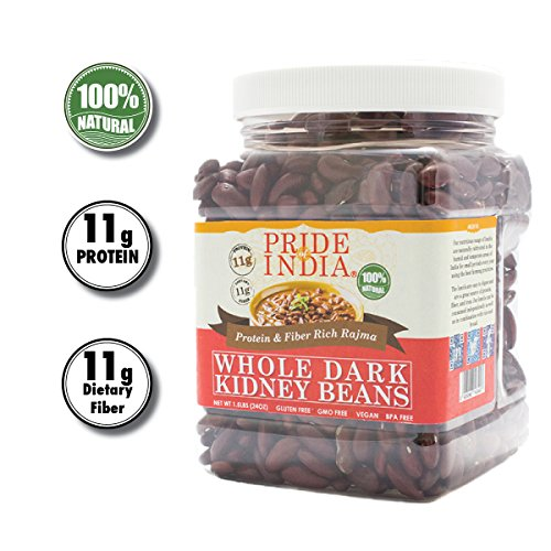 Pride Of India - Indian Whole Dark Kidney Beans - Protein & Fibe...