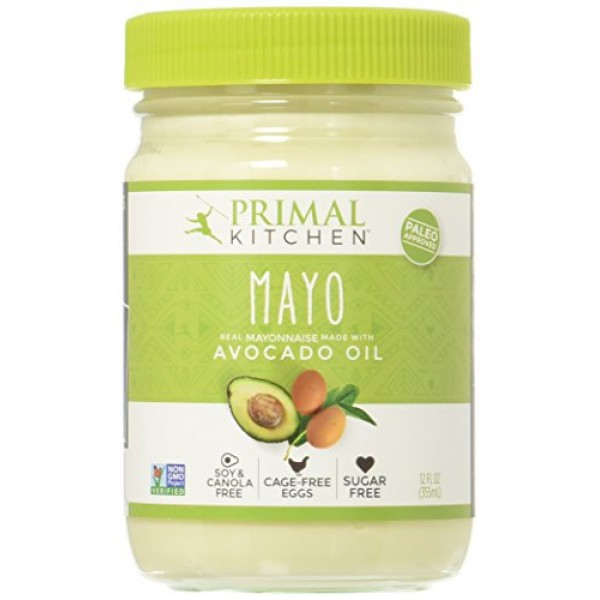 Primal Kitchen - Avocado Oil Mayo, Gluten and Dairy Free, Whole3...