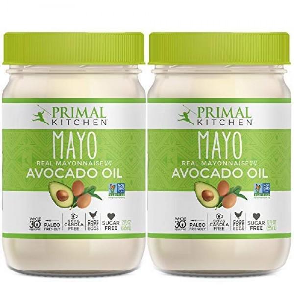 Primal Kitchen - Avocado Oil Mayo, Dairy Free, Whole30 and Paleo...