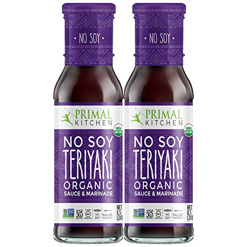 Primal Kitchen No Soy Teriyaki Two Pack Organic Marinade & Sauce...