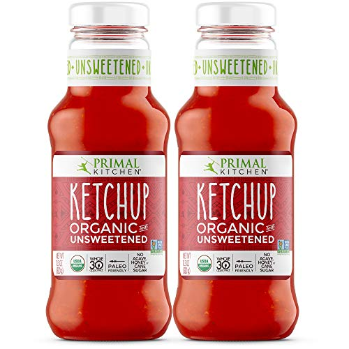 Primal Kitchen Organic Unsweetened Ketchup, Whole 30 Approved, P...