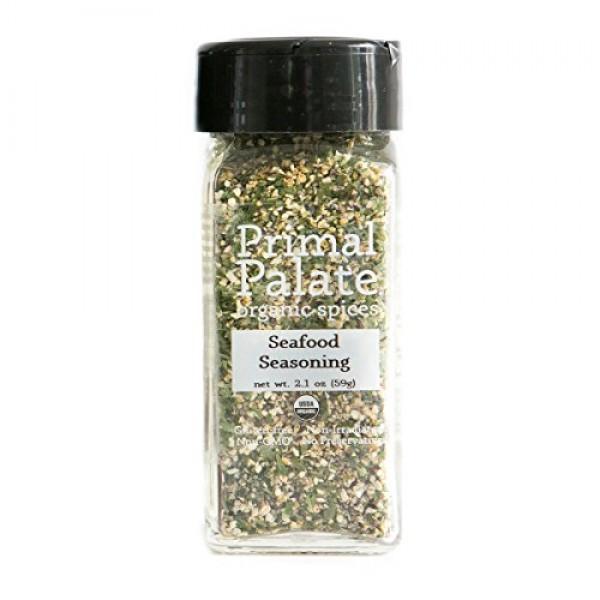 Primal Palate Organic Spices Seafood Seasoning, Certified Organi...