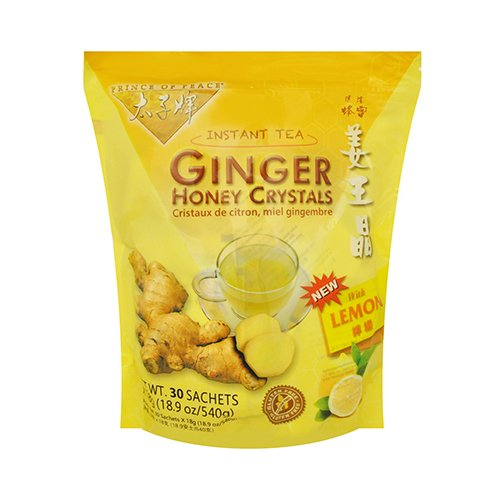 Prince of Peace Instant Lemon Ginger Honey Crystals (30 Sachets...