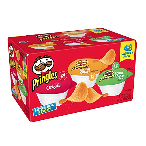 Pringles Snack Stacks Variety Pack 48 ct.
