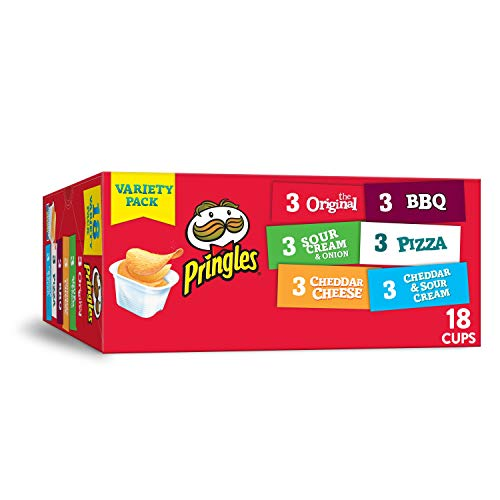 Pringles Snack Stacks Potato Crisps Chips, Flavored Variety Pack...