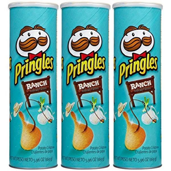 Pringles Chips - Ranch - 5.96 oz - 3 pk