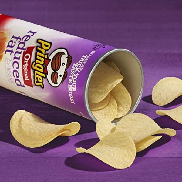 PringlesPotato Crisps Chips, Reduced Fat, Original Flavored, 4....