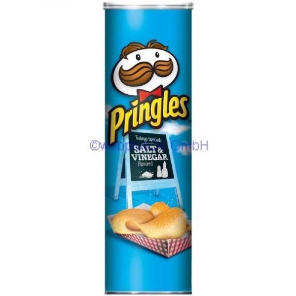 Pringles Salt & Vinegar Super Stack Potato Chips 6.38 oz