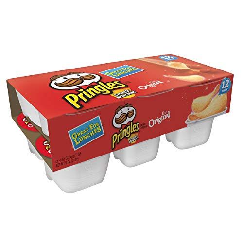 Pringles Snack Stacks Potato Crisps Chips Cup, Original Flavored...