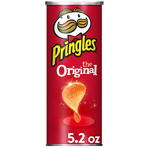 Pringles The Original Potato Crisps - 5.2 oz Can