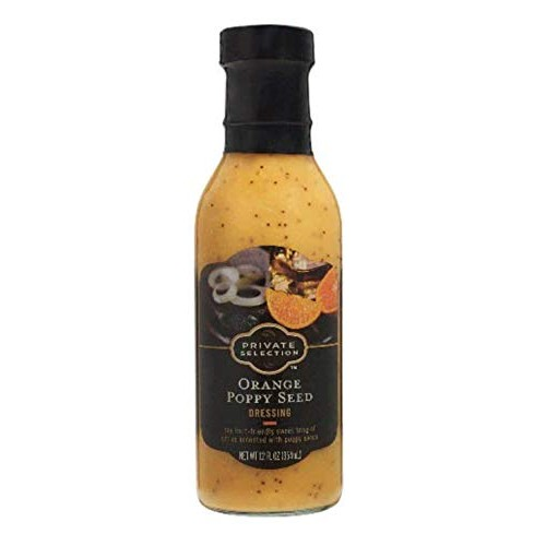 Private Selection Orange Poppyseed Dressing 12 Oz Pack of 2