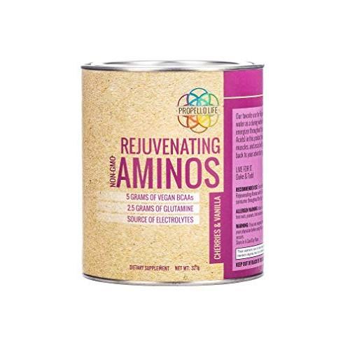 Propello Life Rejuvenating Aminos Drink Mix, Cherries & Vanilla,...