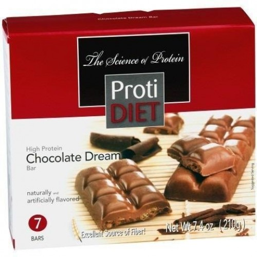 ProtiDiet - High Protein Diet Bar | Chocolate Dream | Low Calori...