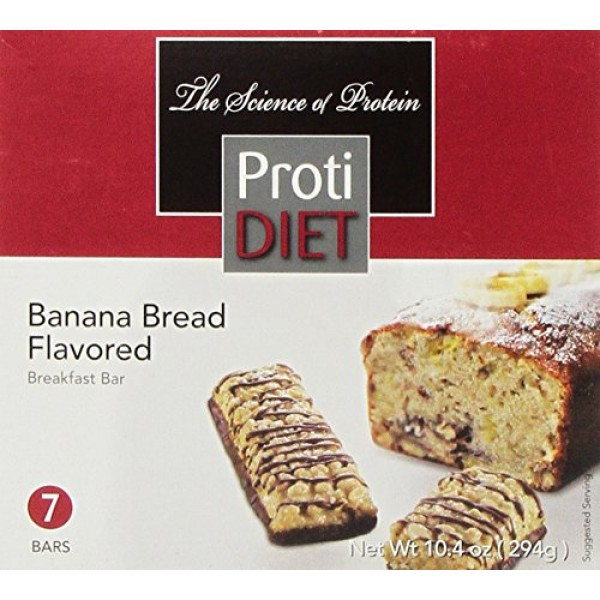 ProtiDIET Delicious Protein Bar | Nutritious Low Fat & Carb Snac...