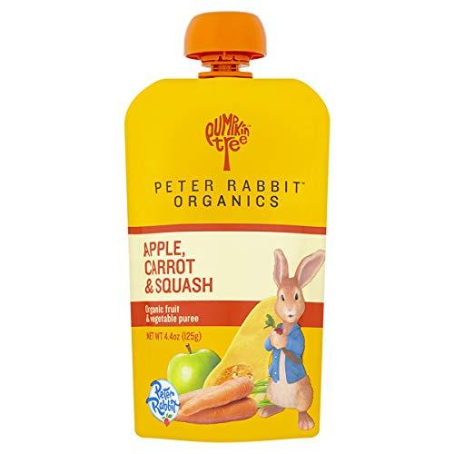 Peter Rabbit Organics, Carrot, Squash & Apple puree, 4.4oz. Pouc...