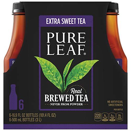 Pure Leaf Extra sweet Iced Tea, 16.9 Fluid Ounce Pack of 6