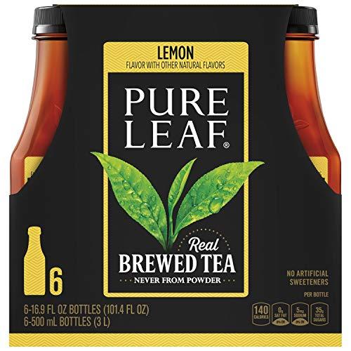 Pure Leaf Sweetened Iced Tea With Lemon, 16.9 Fl. Oz pack of 6