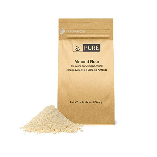 Almond Flour 2 lb. by Pure Organic Ingredients, Paleo and Keto...