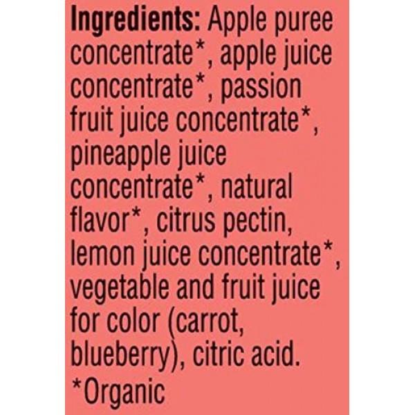 Pure Organic, Layered Fruit Bars, Pineapple Passionfruit, Gluten...