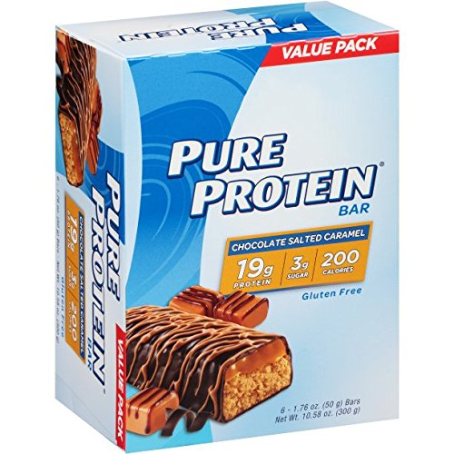 Pure Protein High Protein Bars, Chocolate Salted Caramel Bars, 1...