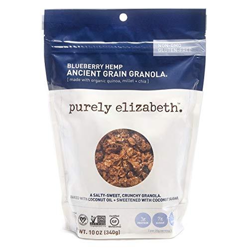 Purely Elizabeth Blueberry Hemp Ancient Grain Granola 10OZ One ...