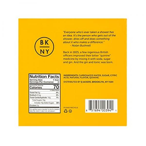 Q Mixers Indian Tonic Water, Premium Cocktail Mixer, 7.5 oz 24 ...