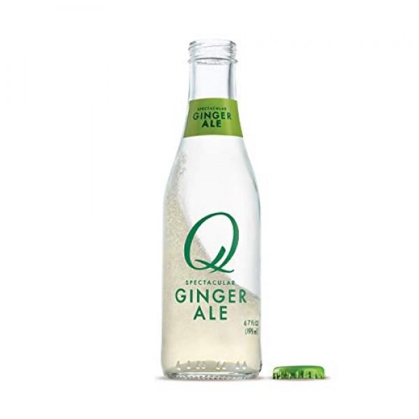 Q Mixers Ginger Ale, Premium Cocktail Mixer, 6.7 oz 24 Bottles