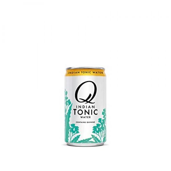 Q Mixers Indian Tonic Water, Premium Cocktail Mixer, 7.5 oz 12 ...
