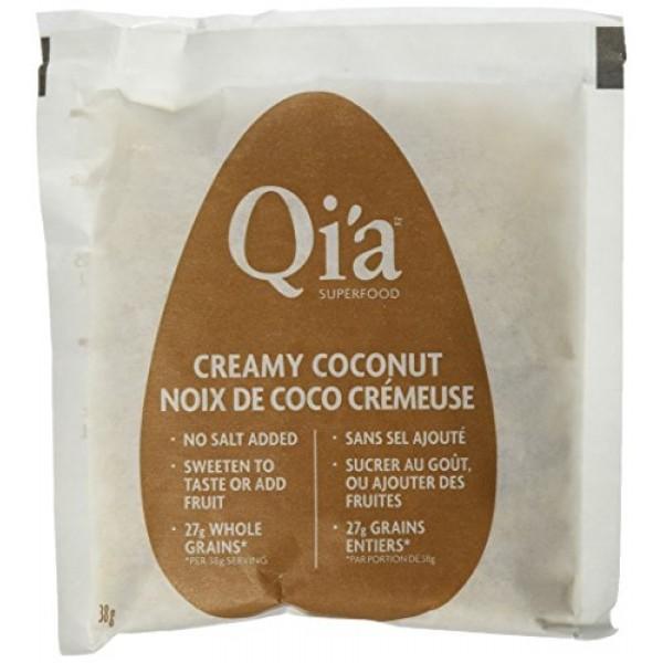 Qia Gluten Free Oatmeal Creamy Coconut - 6 CT