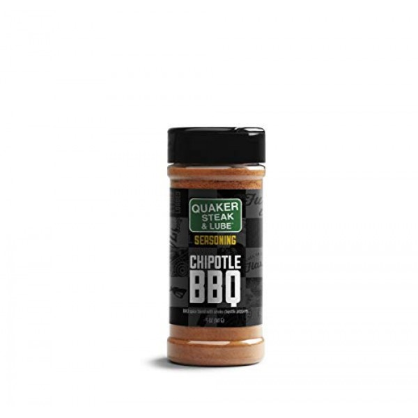 Quaker Steak and Lube Chipotle BBQ Seasoning Shaker - 5 Ounce Pl...