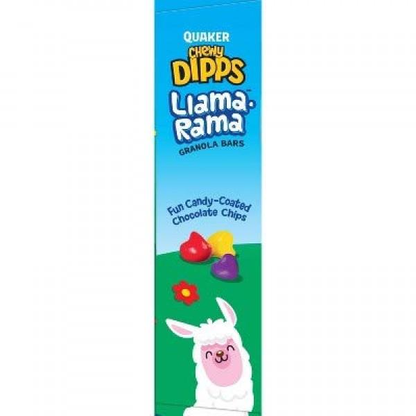 Quaker Chewy Dipps Llama Rama Granola Bars - 6ct Pack of 2